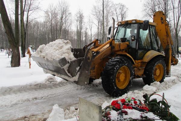 Уборка снега проводилась постоянно