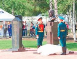 В августе открылся памятник Валерию Чкалову