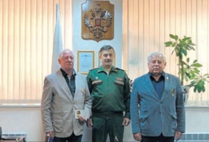 Мемориальная компания силовых структур получила награду Министерства обороны РФ
